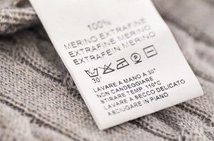 خواندن راهنمای شستشوی لباس ها