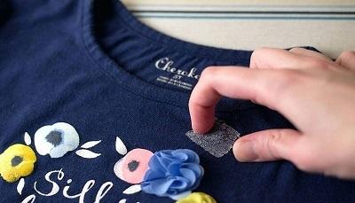پاک کردن چسب از روی لباس